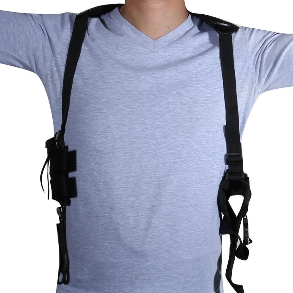 Magorui anti-roubo axilas escondido saco pendurado bolsa de ombro para faca de mão