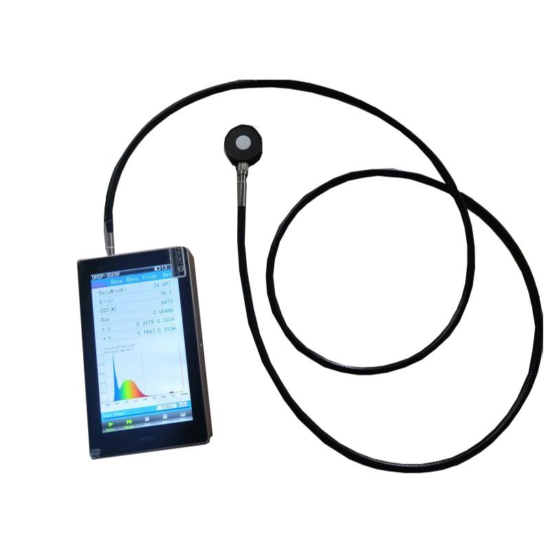 Espectómetro PAR PPFD portátil para prueba de Agricultura, CCT CRI Lux, sensor de longitud de onda extensible impermeable OHSP350P