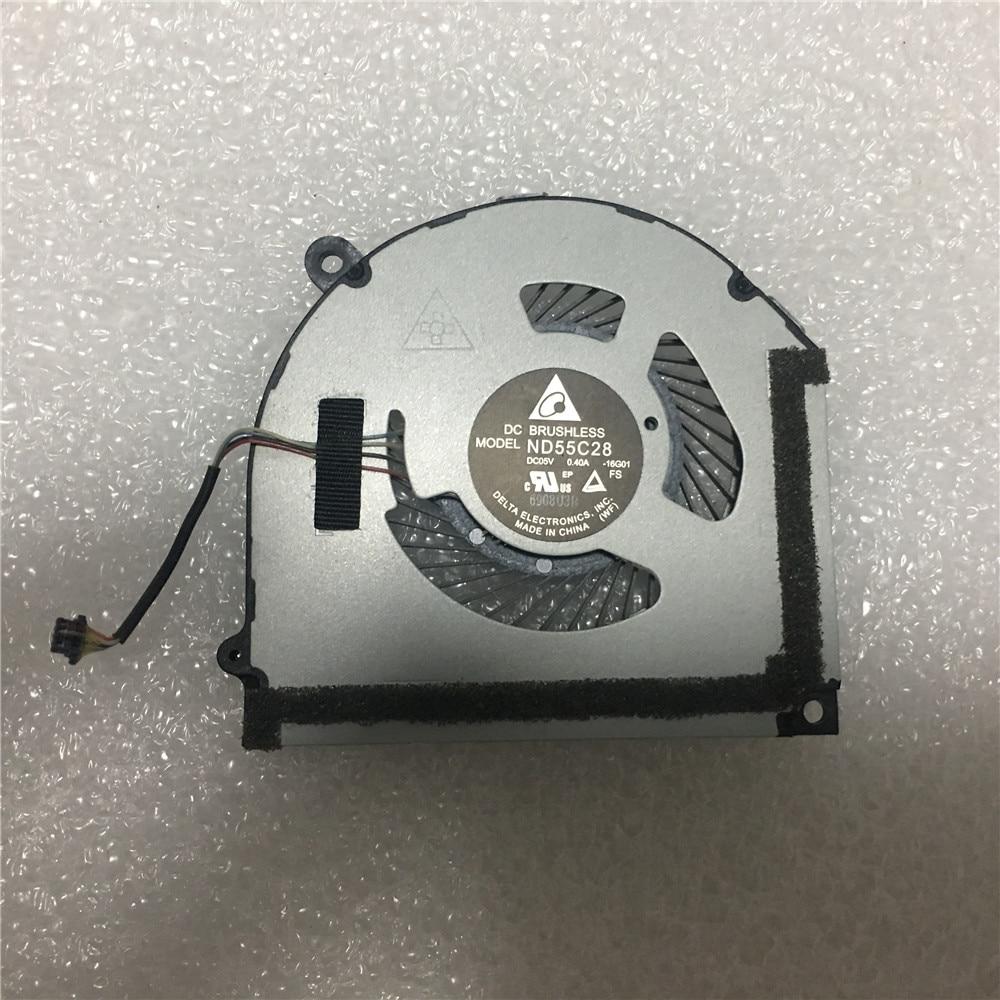 Новый оригинальный ноутбук Lenovo ideapad MIIX 510 510-12ISK 510-12IKB планшетный Вентилятор охлаждения процессора 5F10M13933 ND55C28