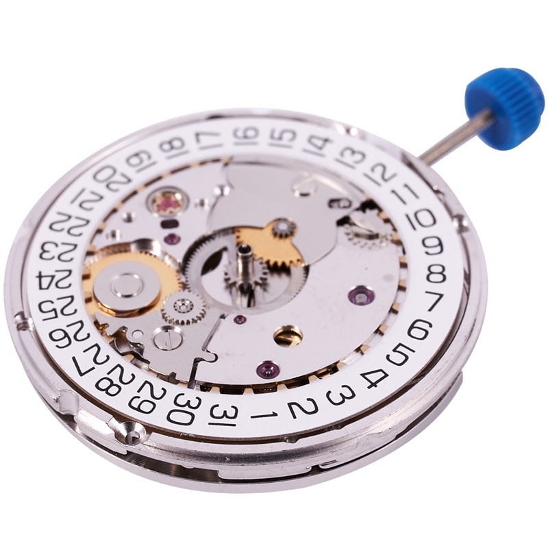 ل ETA 2824-2 SELLITA SW200 الأبيض 3H ساعة ميكانيكية حركة الساعة