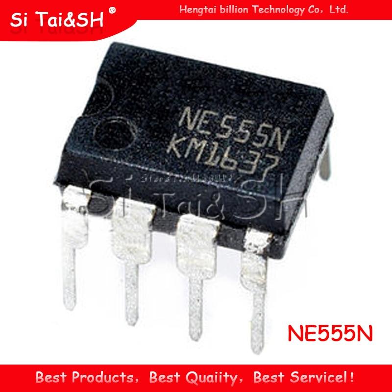 20 шт./лот NE555 NE555P NE555N точные таймеры IC DIP-8