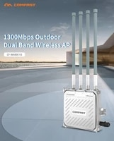 comfast cf wa800 v3 1300mbps dual band 2 45 8g outdoor wireless ap gigabit wifi router 4 external antenna base station