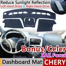 Voor Chery Zeer Celer Fulwin 2 Storm Bonus ZAZ Forza MVM 315 Anti-Slip Mat Dashboard Cover Pad Zonnescherm dashmat Auto Accessoires