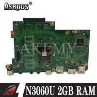 AKEMY TP201SA original mainboard For Asus Flip VivoBook TP201 TP201S TP201SA Laptop motherboard with N3060U 2GB RAM