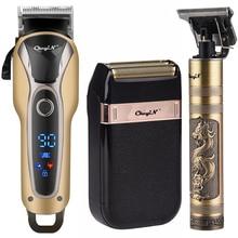 Barbiere professionale tagliacapelli ricaricabile elettrico t-outliner finitura tagliatrice barba Trimmer rasoio Cordless con filo