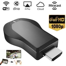 Anycast M4 PLUS 1080P Wireless HD Portable Media Player Streamer Wifi HDMI-compatible Display Dongle