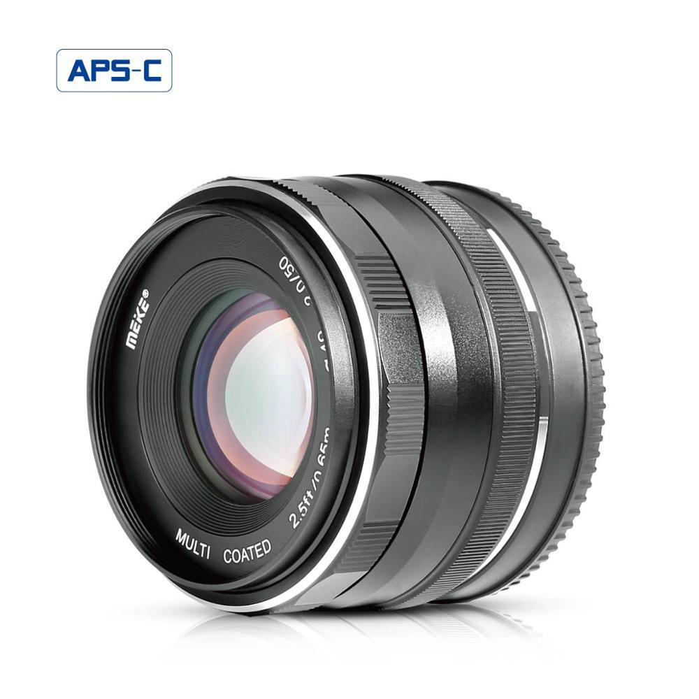 Hacer la 50mm f2.0 fijo lente de enfoque Manual para Sony E mount Mirrorless Cámara a6300/a6000/a5100/a5000/NEX7/NEX6/NEX5n/NE