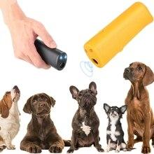 Nouveau 3 en 1 LED Anti aboiement arrêt aboiement ultrasons chien répulsif dispositif de formation formateur bannir la formation sans batterie
