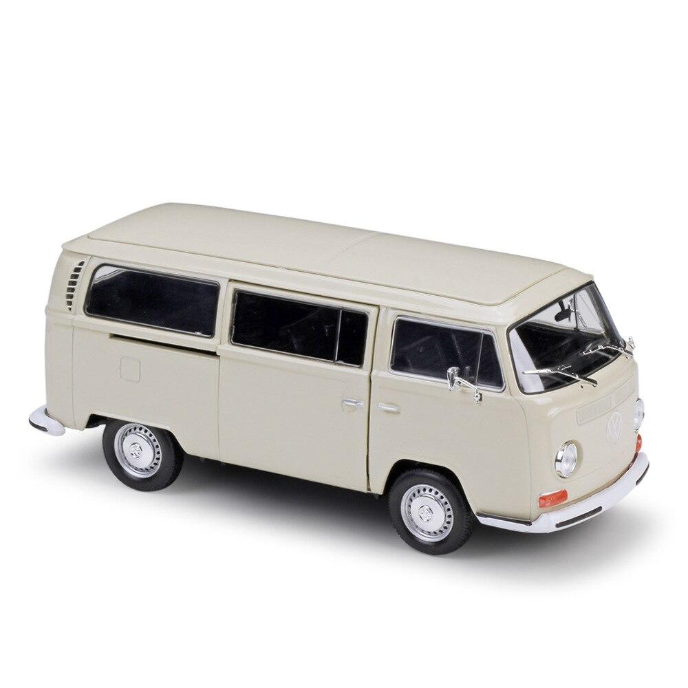 welly colecao de 124 onibus volkswagen t2 carro de liga de luxo fundido colecao de