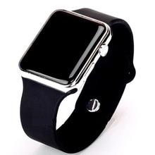 Mens Sport Watch Square LED Student Adult Couple Electronic Digital Watch Elektronische Klok Hodinky