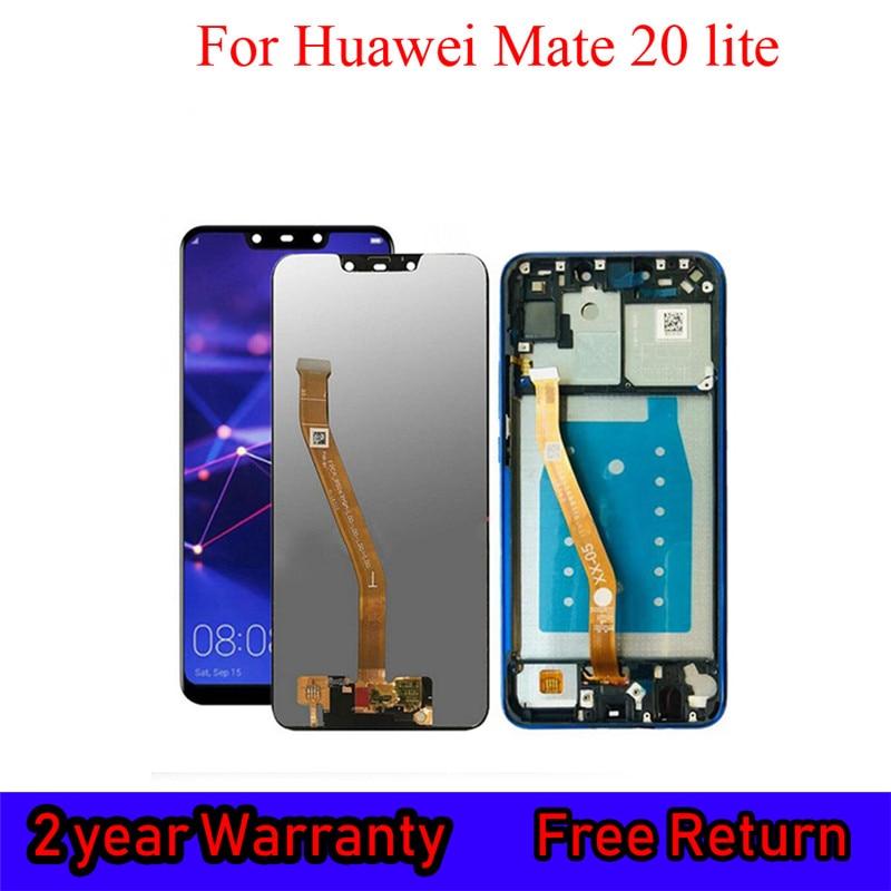 LCD Original para Huawei Mate 20 Lite, reemplazo de pantalla táctil para SNE-AL00, montaje de digitalizador de pantalla táctil SNE-LX1
