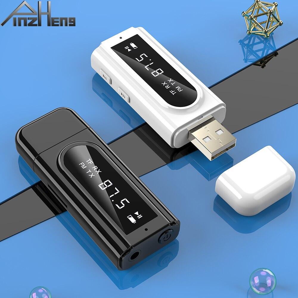 Adaptador USB 5,0 Bluetooth, receptor de transmisor de Audio AUX, adaptador Bluetooth para PC, TV, auriculares de coche, Jack de 3,5mm, adaptadores inalámbricos