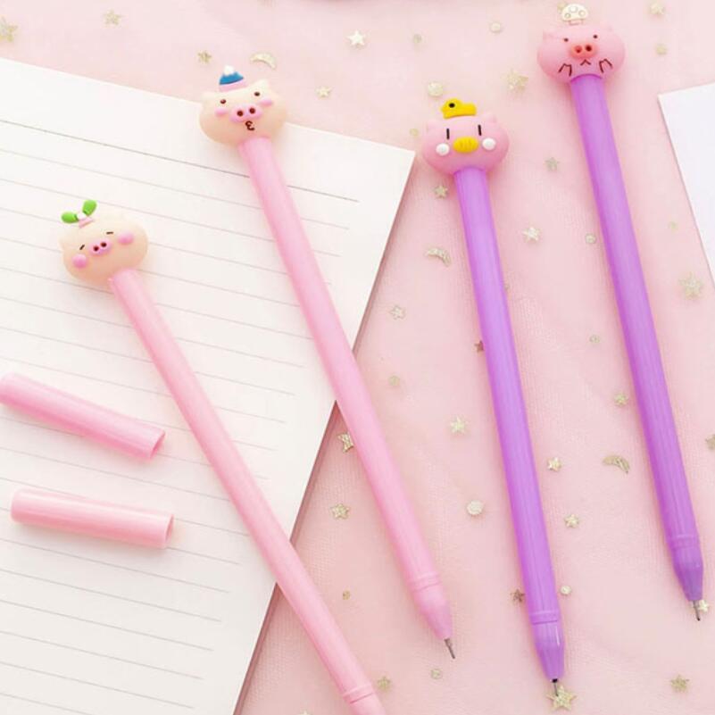 10 шт. необычная милая искусственная необычная ручка, Студенческая ручка для письма и подписей, подарок, канцелярские принадлежности, школьн...