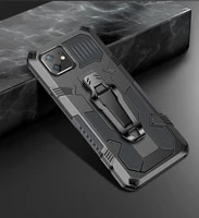fashion rugged armor shockproof phone case for oppo a16 a32 a52 a53 a54 a72 a74 a92 a94 4g protection magnetic kickstand cover