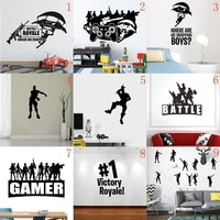 new arrival game wall decal playroom gamer vinyl art stickers teen boy room wall decoration posters boy decals
