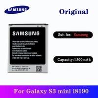 battery eb f1m7flu for samsung galaxy s3 mini i8190 i8160 i8200 original replacement phone high quality bateria akku 1500mah