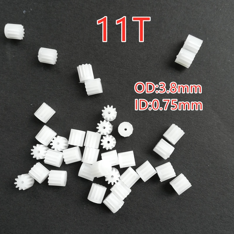Free Shipping 11T Motor Gears Spare Parts For Flying Watch Gesture Helicopter UFO RC Drone Hand Infr