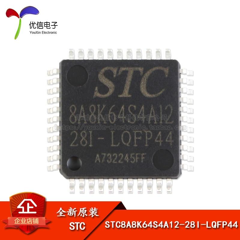 Original auténtico parche STC8A8K64S4A12-28I-LQFP44 microcontrolador chip circuito integrado IC