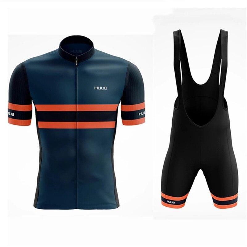 HUUB-Conjunto de Jersey de Ciclismo para hombre, Ropa de manga corta para...