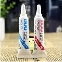 Eyelash Glue Clear-white/Dark-black Waterproof False Eyelashes Makeup Adhesive Eye Lash Glue Profess
