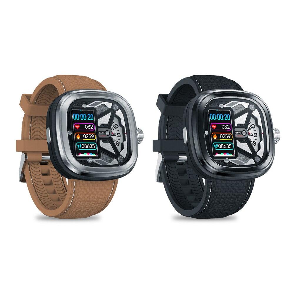 Zeblaze Hybrid 2 reloj inteligente resistente al agua Monitor de presión arterial de ritmo cardíaco recordatorio de temperatura del tiempo Fitness deportivo