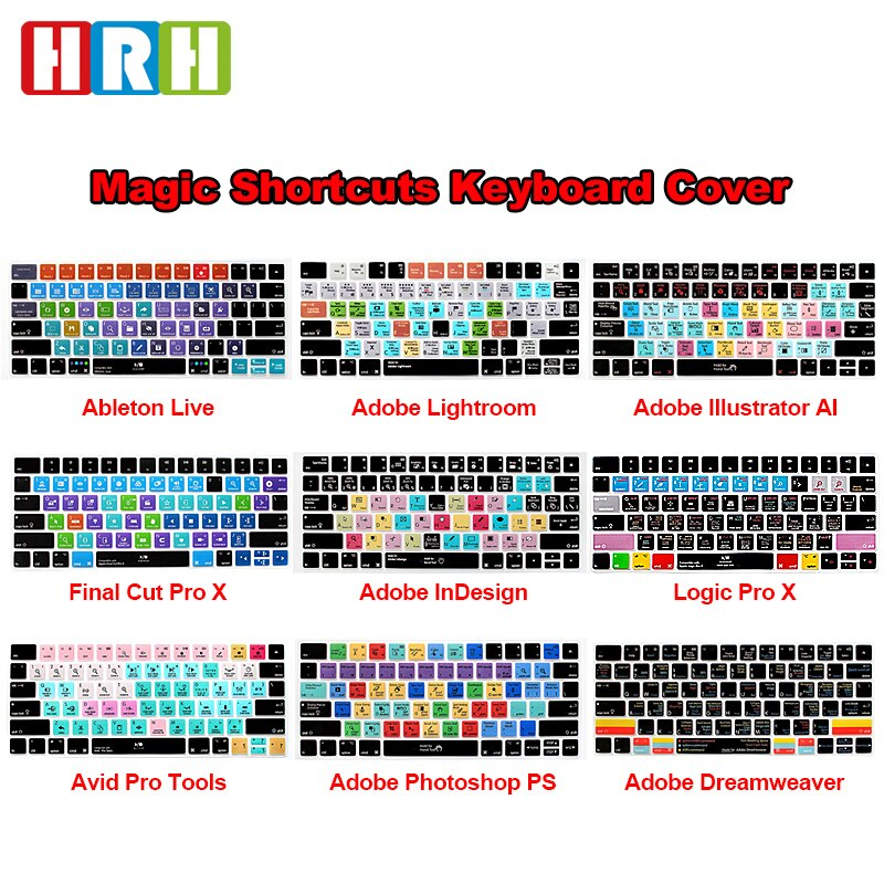 HRH-teclado Ableton Live Avid Pro, herramientas de Final Cut Pro X PS,...