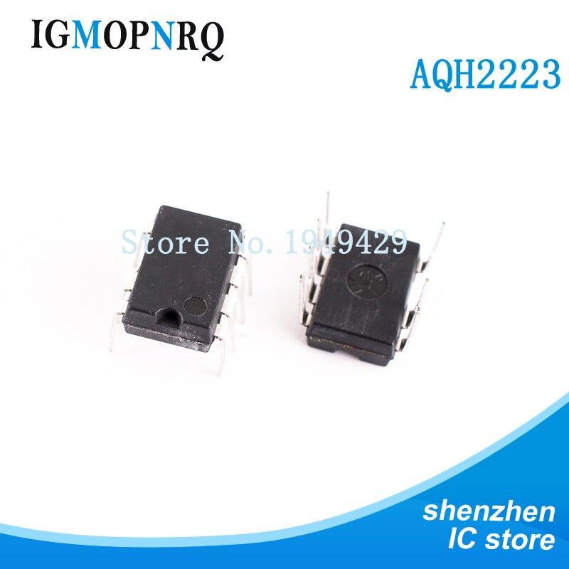 Gratis Verzending 10 Stks/partij AQH2223 Solid State Relais Dip Ic Chip Spruitstuk DIP7 Nieuwe Originele