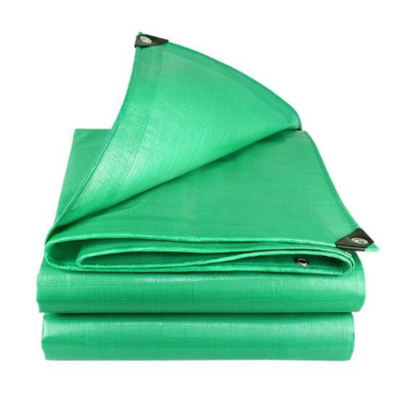 Green Rainproof Cloth Garden Balcony Thickening Rain Sail High Quality Outdoor Car Truck Waterproof Tarpaulin