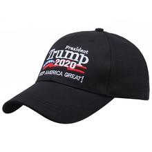 Spot Trump 2020 Election Baseball Cap U.S. Selected Hat Cotton Hat Support Custom