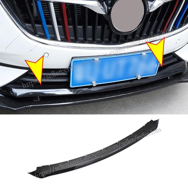 Para Buick Regal 2017-2019 ABS cromado parachoques delantero, parte inferior, rejilla de radiador, moldura de malla, tiras de ajuste
