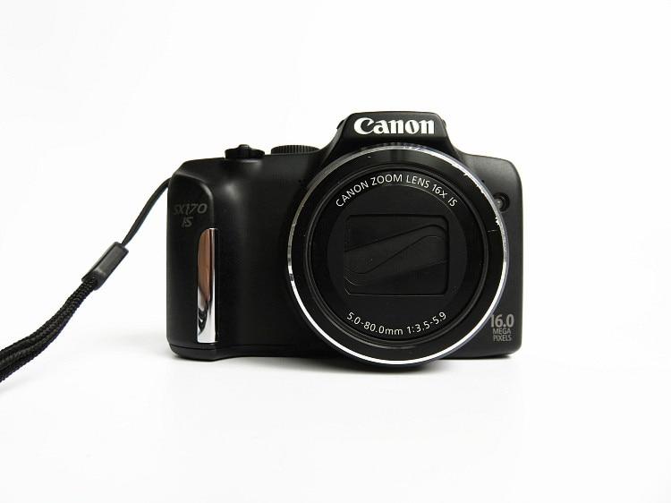 -Cámara Digital Canon PowerShot SX170, usada, 16,0 MP, discontinuo por fabricante, se...