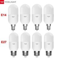 Yeelight     ampoule LED intelligente  temperature de couleur  M2 E14 E27  luminosite reglable  telecommande  fonctionne avec lapplication Mijia  Apple HomeKit