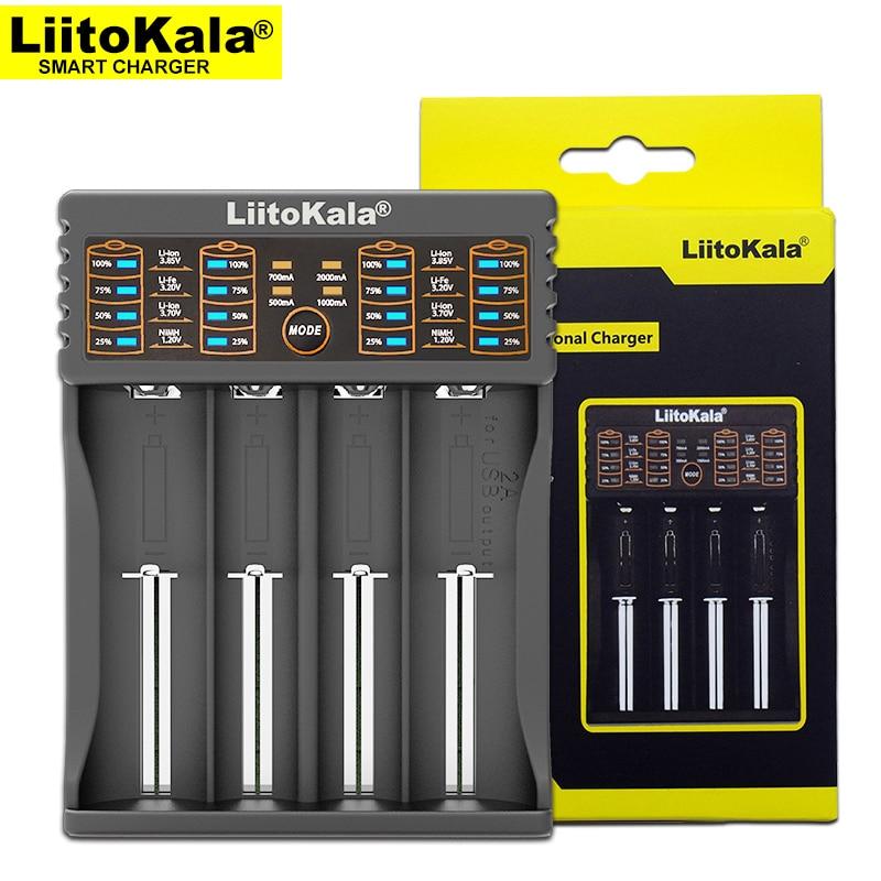 Liitokala Lii-402 18650 battery Charger, Charging 18650 1.2V 3.7V 3.2V AA / AAA 26650 10440 16340 Ni