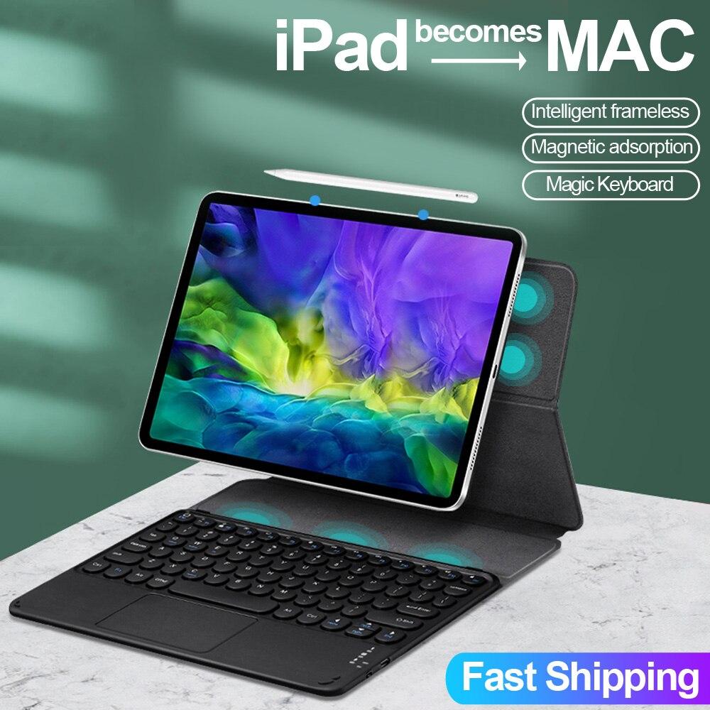 teclado magico para ipad pro 11 caso 2021 para ipad pro 129 2018 2020 ar 4 109 capa