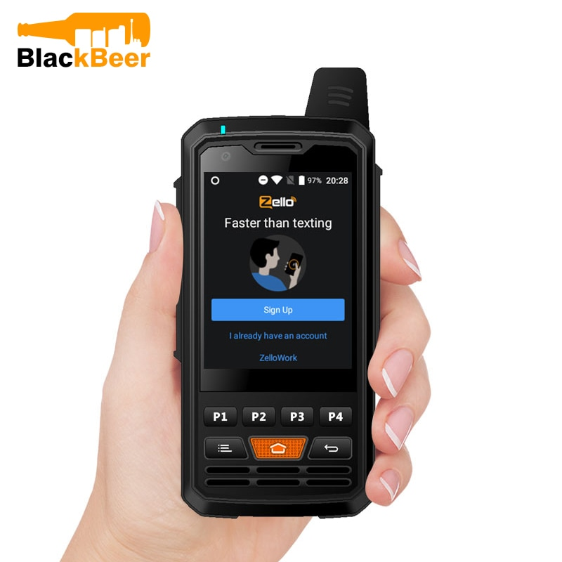 UNIWA Alps F50 2G/3G/4G Zello Walkie Talkie Android Smartphone Quad Core Cellphones MTK6735 1GB+8GB ROM Signal Booster