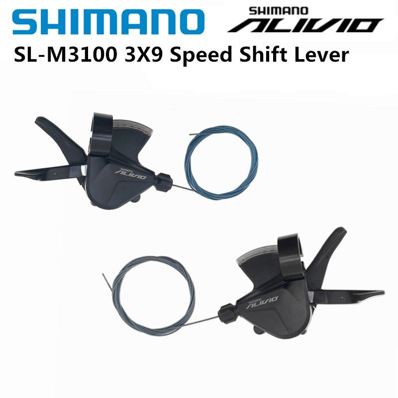 Shimano-palanca de cambios RAPIDFIRE PLUS para bicicleta de montaña, accesorio de 3x9...