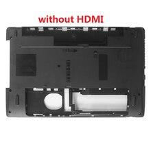 Novo caso inferior para acer aspire 5250 5733 portátil inferior caso base capa não hdmi