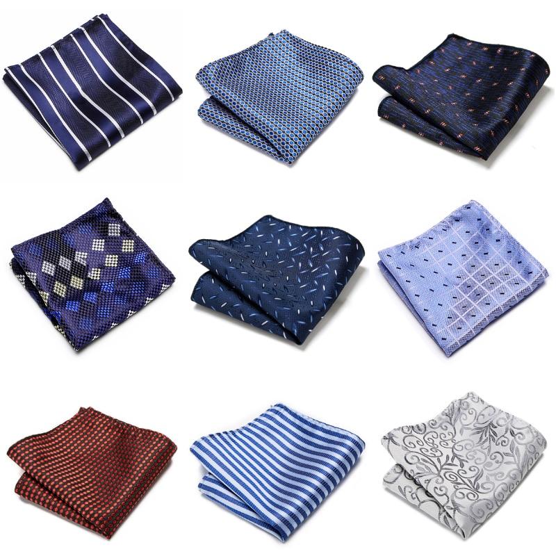 Горячая Распродажа 126 много цветов высшего класса 9 шт./лот платок Карманный квадратный платок аксессуары для одежды мужской бежевый Прямая ...