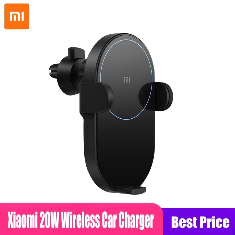 Xiaomi Mi 20W Max Qi Wireless Car Charger WCJ02ZM Auto Pinch with...