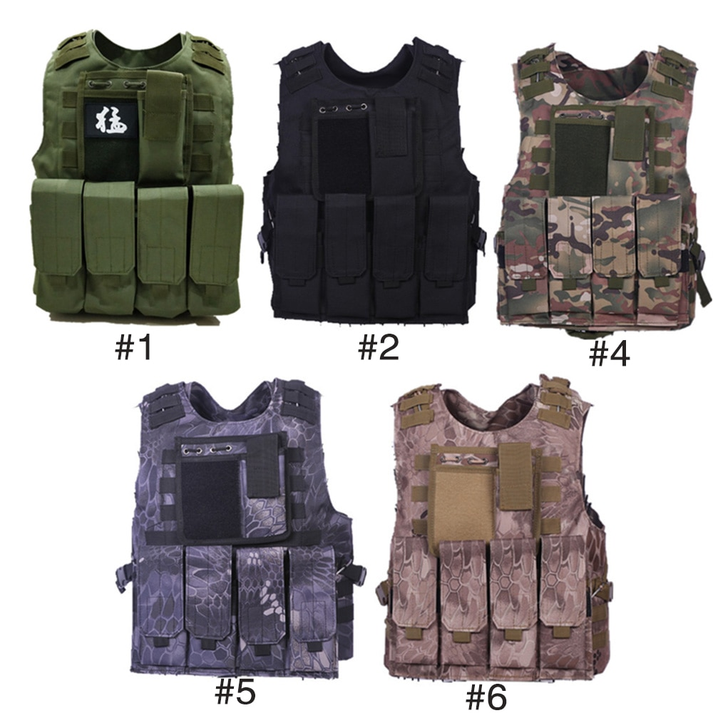Tactical Equipment Adventure Men's Fashion Average Code Military Waistcoatmen Combat Militaryvest Survive Wargame Outdoor Vest