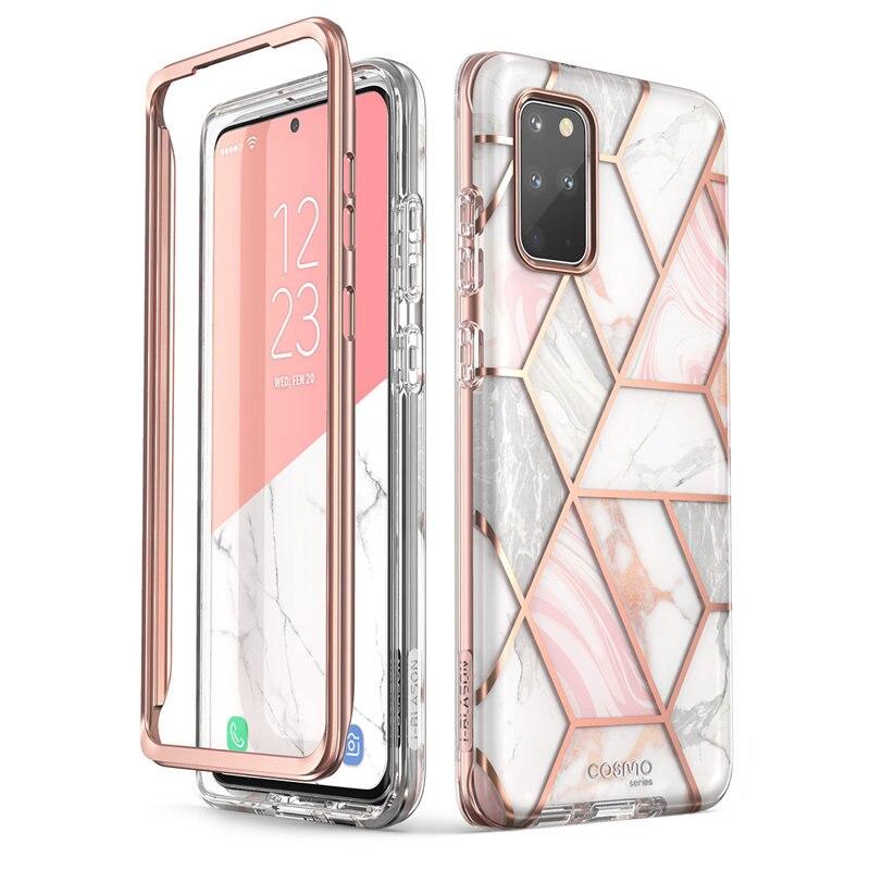 Para Samsung Galaxy S20 Plus 5G funda i-blason Cosmo carcasa de mármol brillante sin Protector de pantalla incorporado
