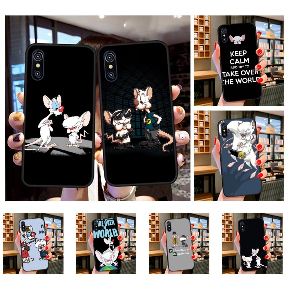 Чехол для телефона с изображением Пинки и мозга из мультфильма, для iPhone 11 pro XS MAX 8 7 6 6S Plus X 5S SE XR