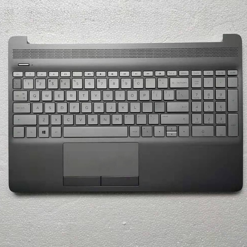 محمول لوحة مفاتيح إتش بي 15-DW 15S-DU 15S-DY TPN-C139 مع Palmrest غطاء