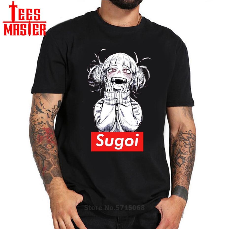 Japoneses nuevos anime hombres camiseta de tricicordoba Himiko Boku No Hero Academia mi héroe artístico increíble Modal obra de arte impresa camiseta top
