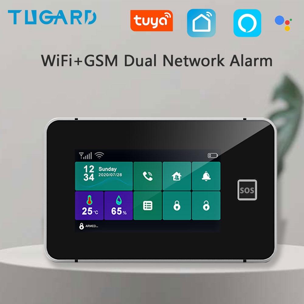Tugard - Sistema de alarma de seguridad WIFI, GSM, 433MHz, Inalámbrico