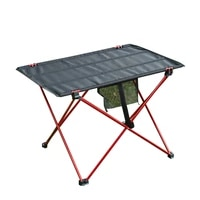 portable folding table home barbecue picnic ultra light aluminum alloy traveling fishing computer bed tables outdoor camping