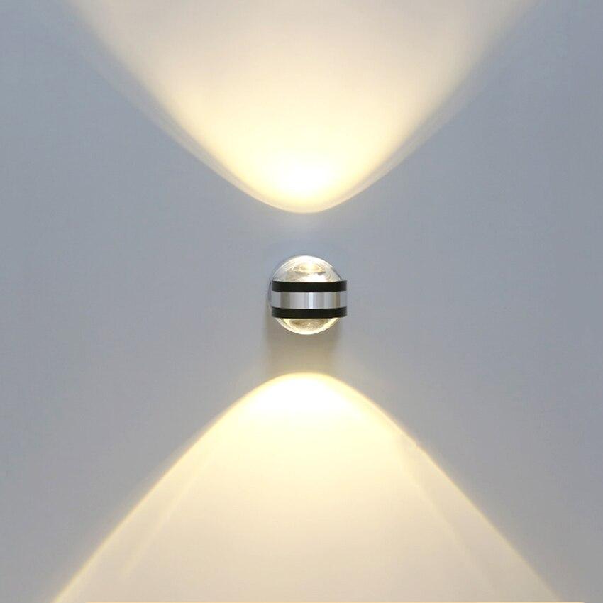 6 Вт светодиодный внутренний настенный светильник светодиодный настенный светильник светильники алюминиевые настенные бра светодиодный н...