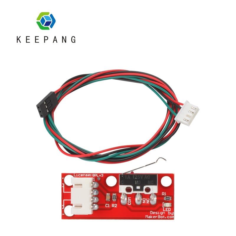 Kee Pang 1 шт. механический ограничитель хода ограничительные переключатели для 3D принтера RAMPS 1,4 Запчасти для 3D-принтера модуль переключения с ...
