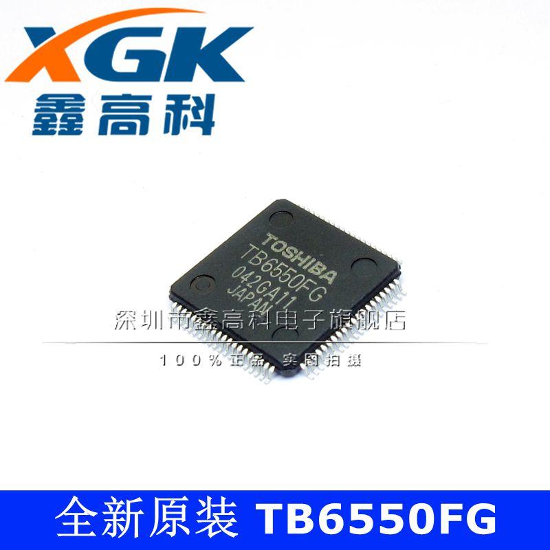 شحن مجاني TB6550FG TB6550FG QFP80 IC 10 قطعة