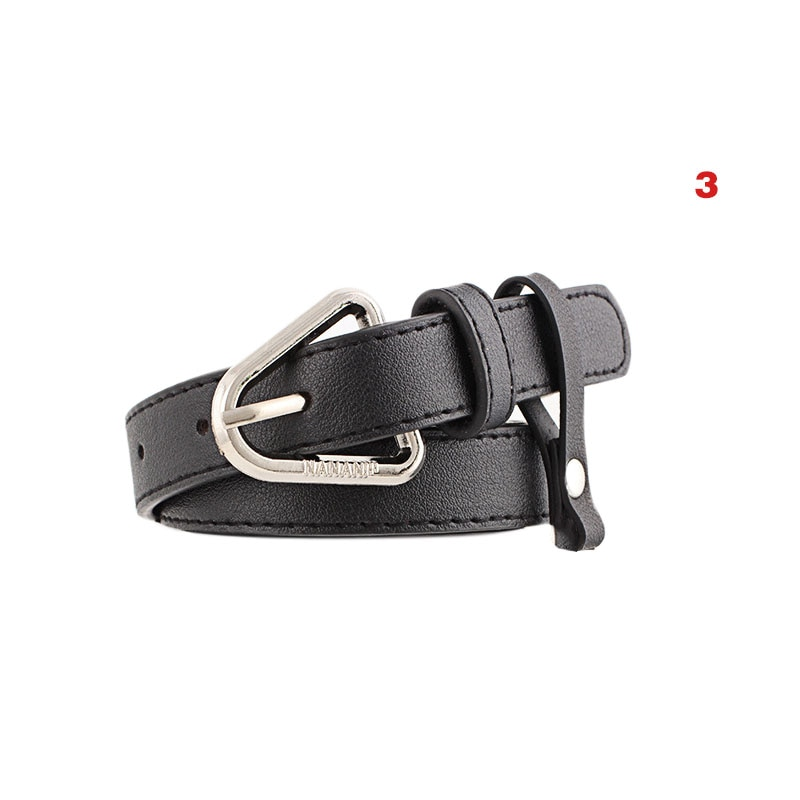 Newly Women Waist Belt PU Leather With Alloy Buckle Lady Girl Belts for Jeans Pants DO99